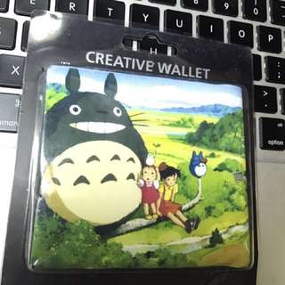 台灣創意手作銀包(龍貓) creative hand make wallet (Totoro)