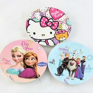 Baby Kids Plate/Hello Kitty Melody Frozen Dish Plate