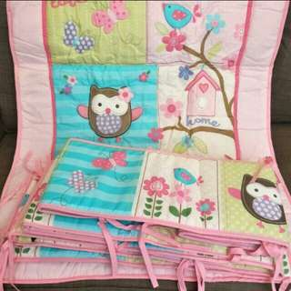 Cot bedding set