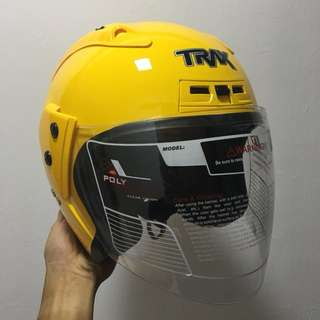 TRAX TR06RR Yellow Helmet