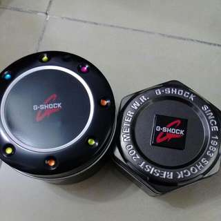 g-shock 盒