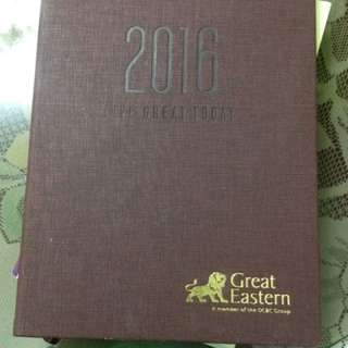 GREAT EASTERN Planner Book