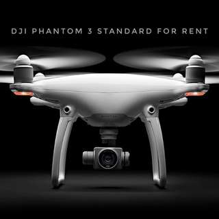 DJI Phantom 3 Standard for RENT