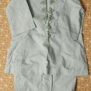 baju kurung 0-12 months