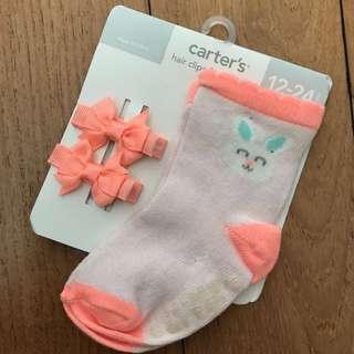 CARTER'S Socks 12M