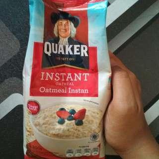 (turun harga) Quaker oatmeal instan