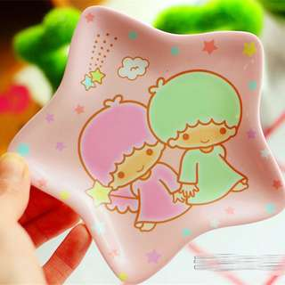 Cute Cartoon Plate Frog/Hello Kitty Melody Dishes Plate