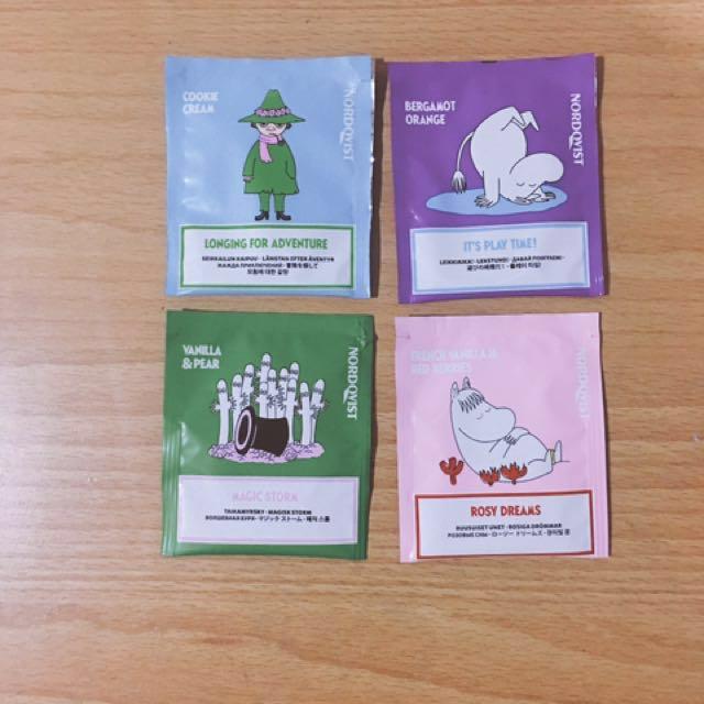 *降價*芬蘭2016年嚕嚕米聖誕茶包特別款moomin