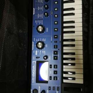Mininova synthesizer with bag by Novation