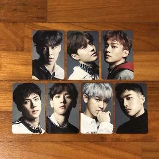 [pc/album/set] exo countdown japan photocard album instock