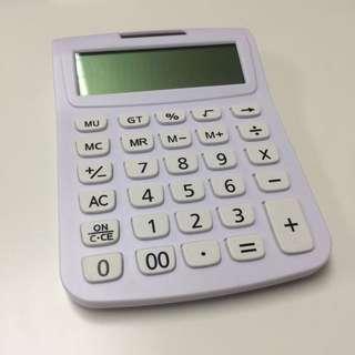 白色 計數機