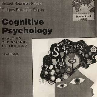 COGNITION & PERCEPTION TB UOW 3RD EDITION