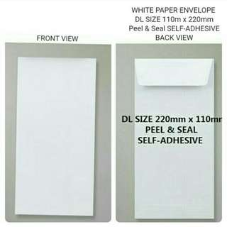 Envelopes 220mm x 110mm