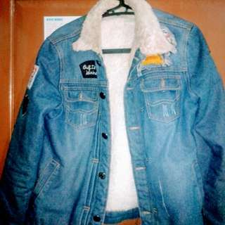Jaket lepis bulu