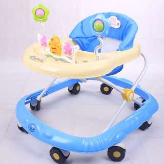 Brand new Walker/Baby walker/baby chair/toys and Music /Adjustable height/limited stock/cot