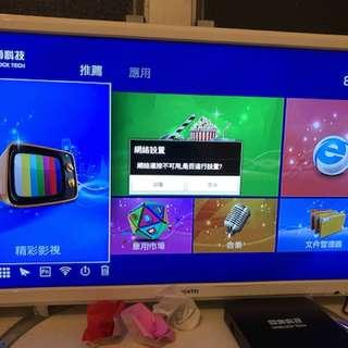 全新24吋電視連安博