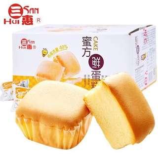 三惠 蜜方鮮雞蛋糕500g