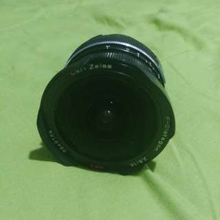 WTS Carl Zeiss sonnar 16mm 2.8F