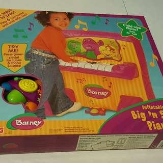 Barney Inflatable Piano