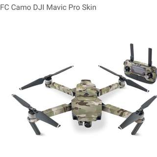 FC Camo DJI Mavic Pro Skin