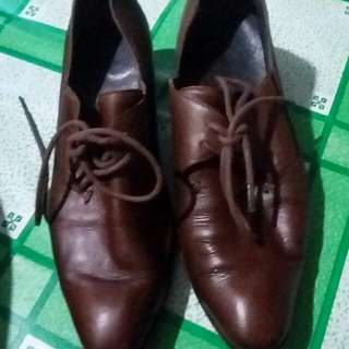 REPRICED!!! Womens Leather Shoes Brown