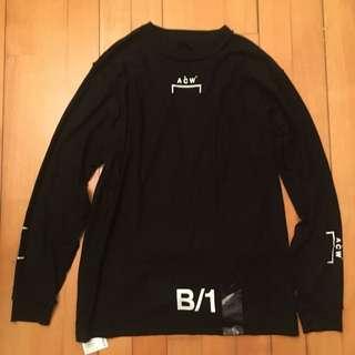 A cold wall t shirt XL size 99%new只穿過2次