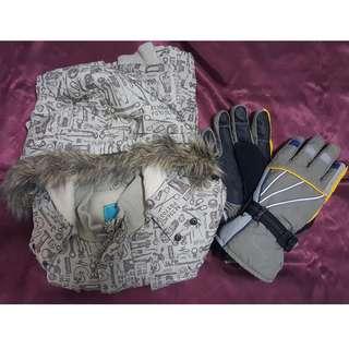 Winter Jacket + Gloves