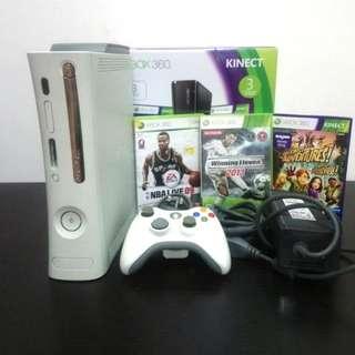 White Xbox 360 Console Set (Complete)