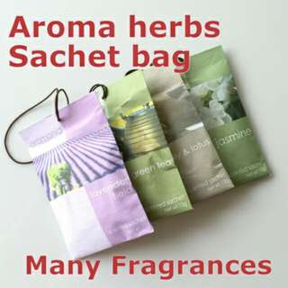 Aromania Sachet bag with aroma herbs Essential aroma bag - Many Fragrances to choose from! Aromatherapy. Living room wardrobe shoe case office car bookbath room