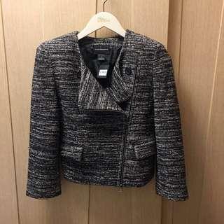 (New) Club Monaco black mix noif may jacket ☃️