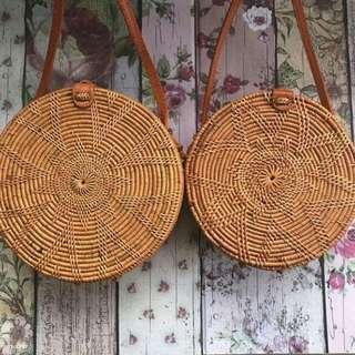 Plain Rattan bags