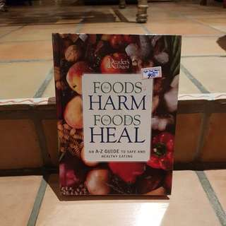 Reader's Digest Foods that Harm Foods that Heal