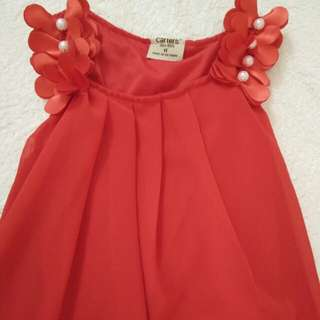 Carter's Red dress