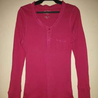 Dutch and Harley Long Sleeve Shirt in Pink(XL)