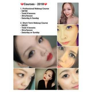 Makeup Courses - 2018