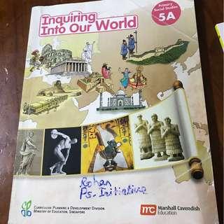 P5 social studies text book