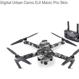 Digital Urban Camo DJI Mavic Pro Skin