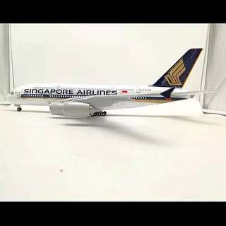 Singapore Airlines Airbus A380-841 WITH LED and removable landing Gear