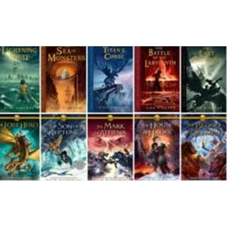 Rick Riordan Percy Jackson Magnus Chase Kane eBook Collection for Kindle/iPad/Nook