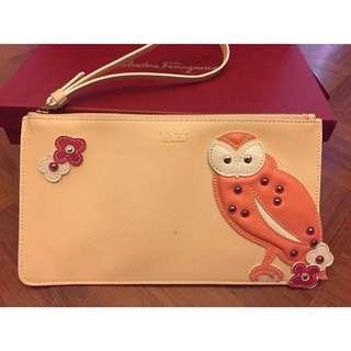 Ferragamo owl pouch