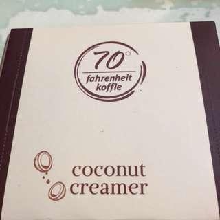🚚 咖啡/茶的最佳伴侣 純椰子粉 無糖 巴厘島原裝正貨 COCONUT (1盒30包)