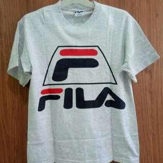 Fila Big Logo T-shirt Made In USA