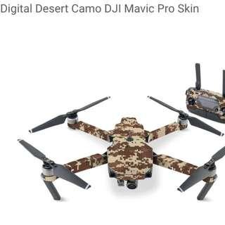 Digital Desert Camo DJI Mavic Pro Skin