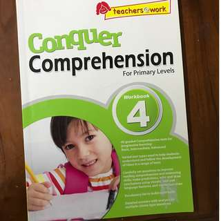 English comprehension book for P4