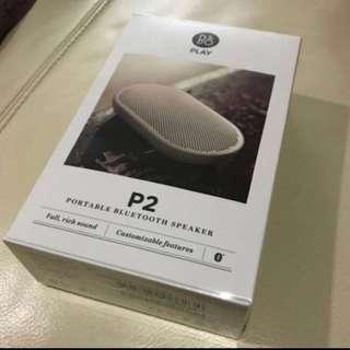 B&O P2 portable Bluetooth speaker
