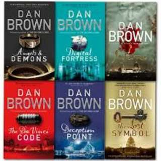 Dan Brown eBook Collection for Kindle/iPad/Nook