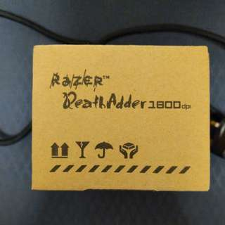 New Razer Deathadder 1800dpi