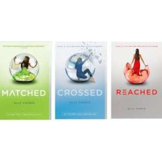 Matched Trilogy by Ally Condie eBooks for Kindle/iPad/Nook