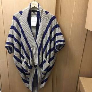 (New)Atsuro Tayama two tone stripe cardigan 🍭