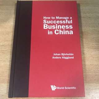 Successful Business in China